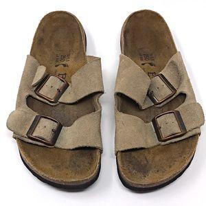 Birkenstock Betula Arizona Style Suede Cork Sandal